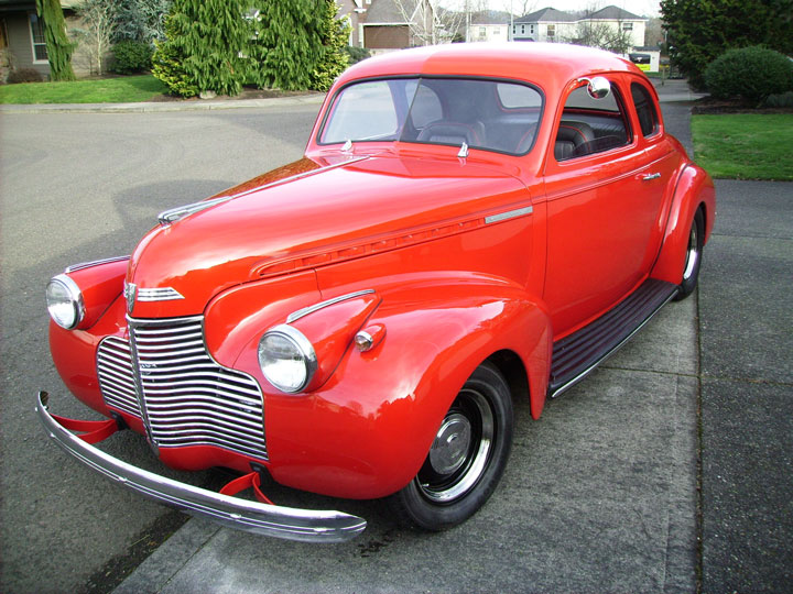 1940 Master Deluxe Chevy Coupe