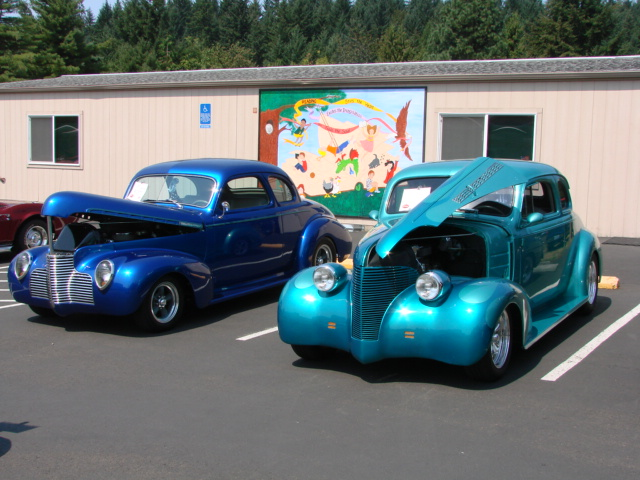 1940 and 1939 Chevy Business Coupes