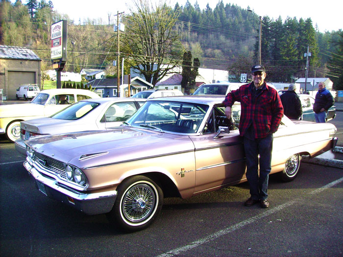 Bill Stephan's 1963 and a half Ford Galaxie 500 XL
