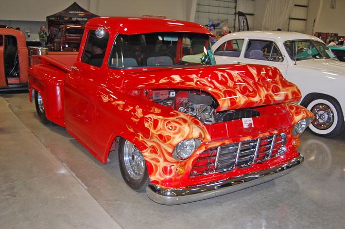 Dell Bartolome's 1956 Chevy PU