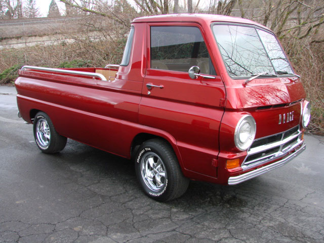 1965 dodge a 100 pick up roddin 39 racin 39 northwest. Black Bedroom Furniture Sets. Home Design Ideas